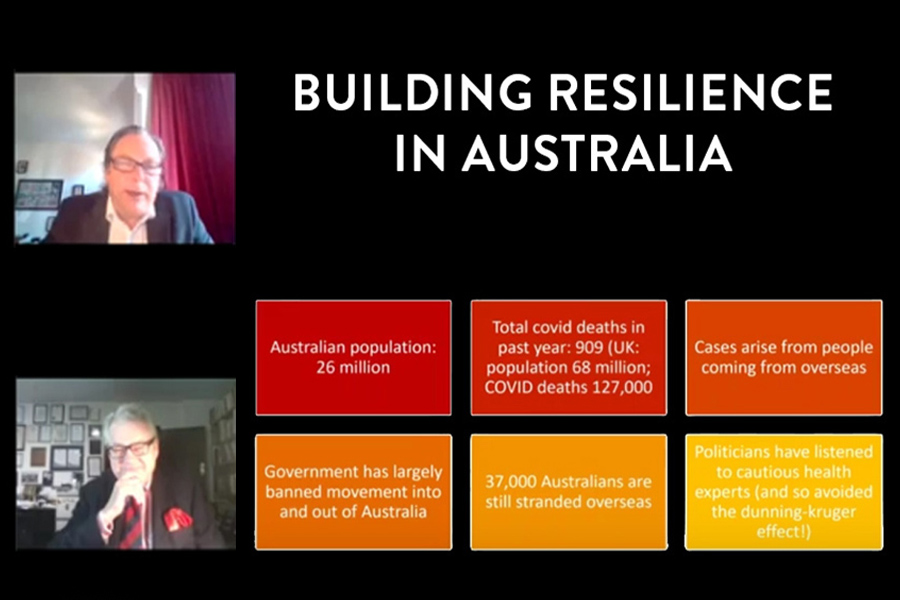 Building Resilience in Australia: The Wonder Down Under